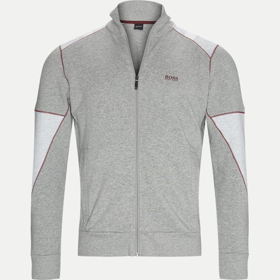 50412924 SKAZ 1 - Skaz 1 Zip Sweatshirt - Sweatshirts - Regular - LYS GRÅ - 1